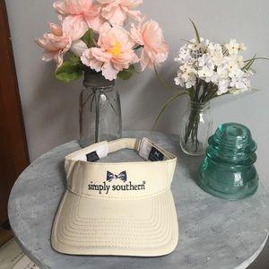 Simply Southern Khaki Visor Hat